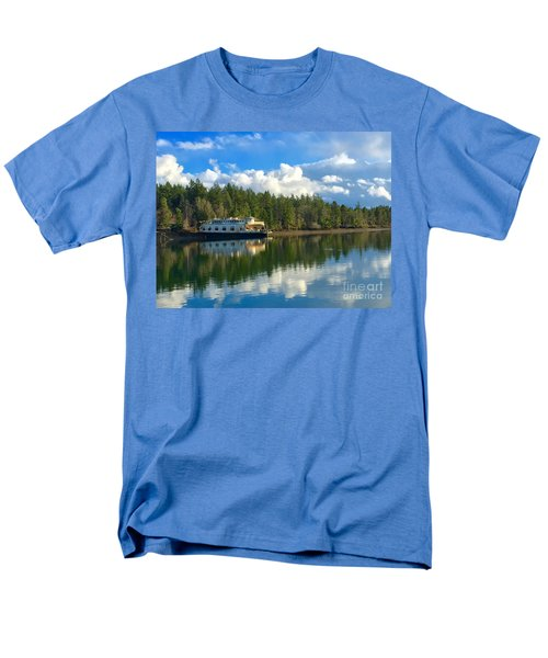 Abandoned Ferry Men's T-Shirt  (Regular Fit) by Sean Griffin