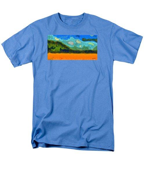 Above The Woods Men's T-Shirt  (Regular Fit) by Spyder Webb