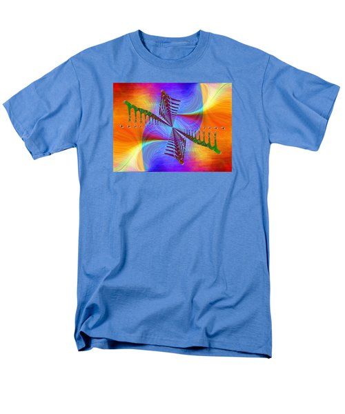Men's T-Shirt  (Regular Fit) featuring the digital art Abstract Cubed 372 by Tim Allen