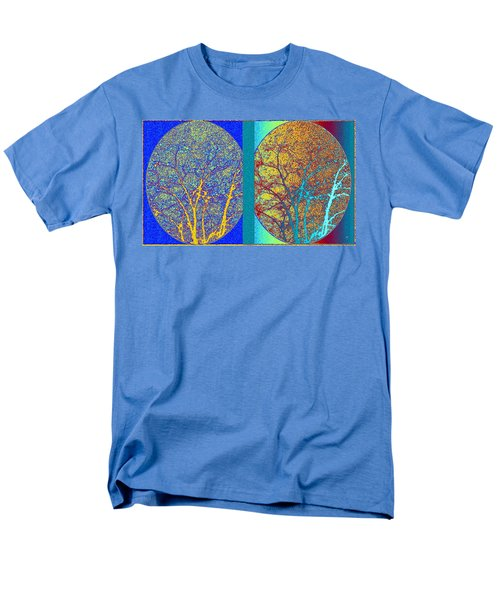 Men's T-Shirt  (Regular Fit) featuring the digital art Abstract Fusion 276 by Will Borden