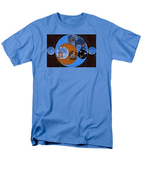 Abstract Painting - Rock Blue Men's T-Shirt  (Regular Fit) by Vitaliy Gladkiy