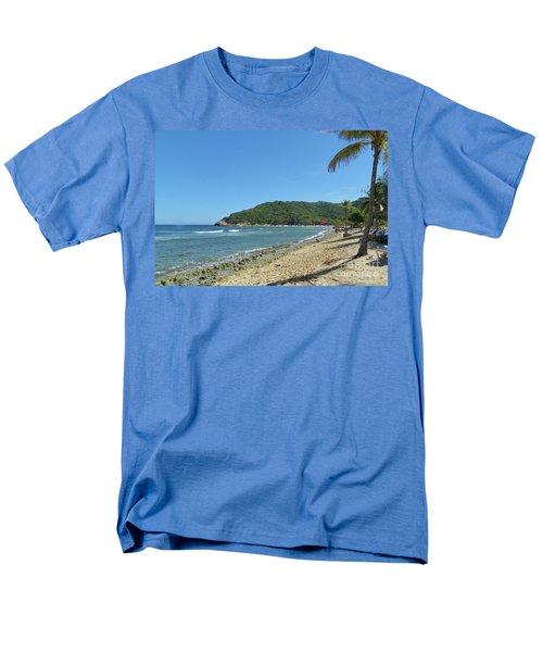 Men's T-Shirt  (Regular Fit) featuring the photograph Adrenaline Beach by Carol  Bradley