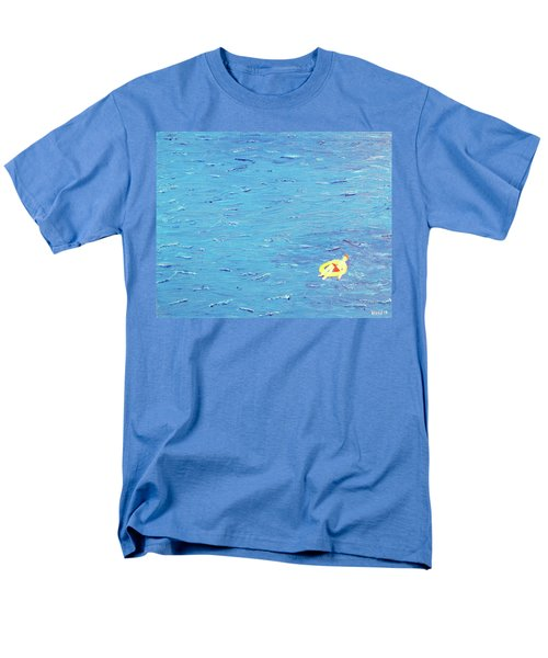 Men's T-Shirt  (Regular Fit) featuring the painting Adrift by Thomas Blood