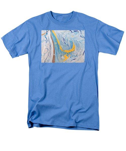 African Dolphin Coast Men's T-Shirt  (Regular Fit) by Gyula Julian Lovas