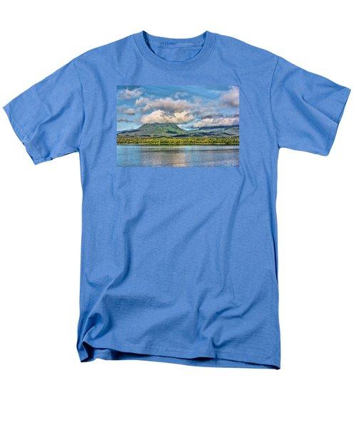 Men's T-Shirt  (Regular Fit) featuring the photograph Alaska Morning by Lewis Mann