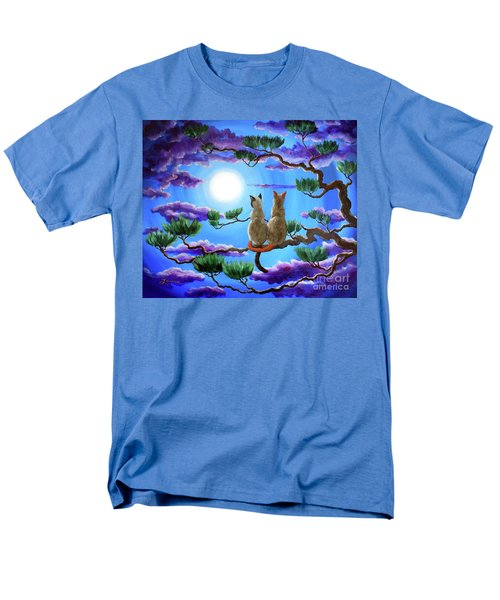 Alone In The Treetops Men's T-Shirt  (Regular Fit) by Laura Iverson