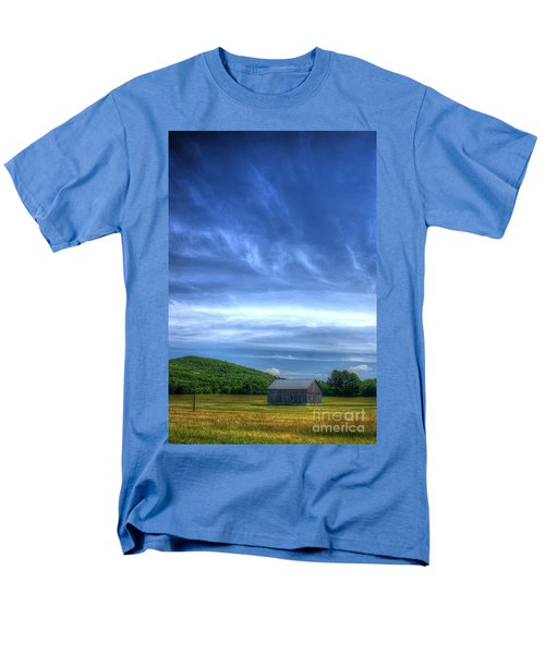 Men's T-Shirt  (Regular Fit) featuring the photograph  Alone by Randy Pollard