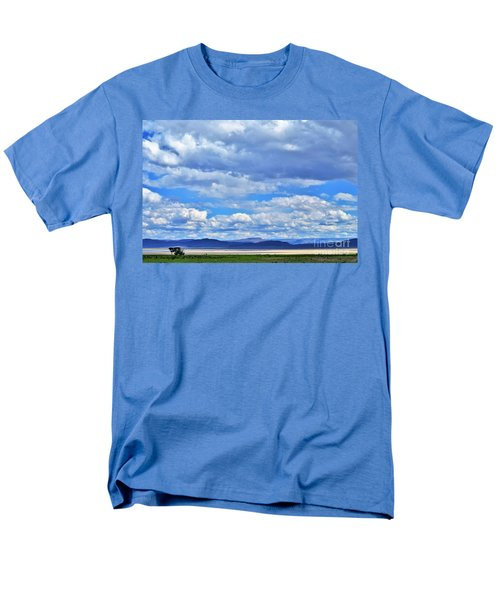 Men's T-Shirt  (Regular Fit) featuring the photograph Sky Over Alvord Playa by Michele Penner