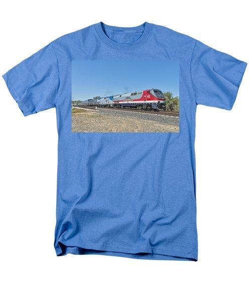Amtrak 42  Veteran's Special Men's T-Shirt  (Regular Fit) by Jim Thompson