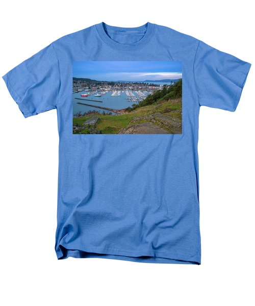 Anacortes Peaceful Morning Men's T-Shirt  (Regular Fit) by Ken Stanback