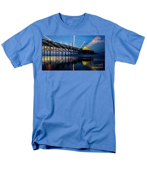 Apache Pier Men's T-Shirt  (Regular Fit) by David Smith