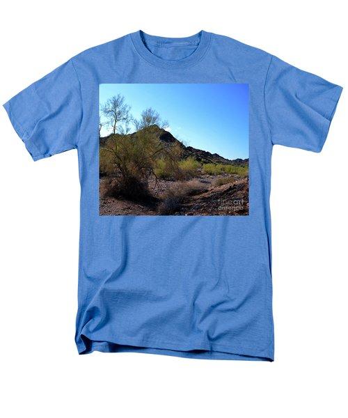 Arizona Desert Men's T-Shirt  (Regular Fit) by Renie Rutten