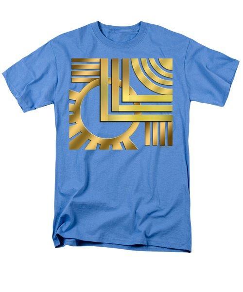 Men's T-Shirt  (Regular Fit) featuring the digital art Art Deco 19 Transparent by Chuck Staley