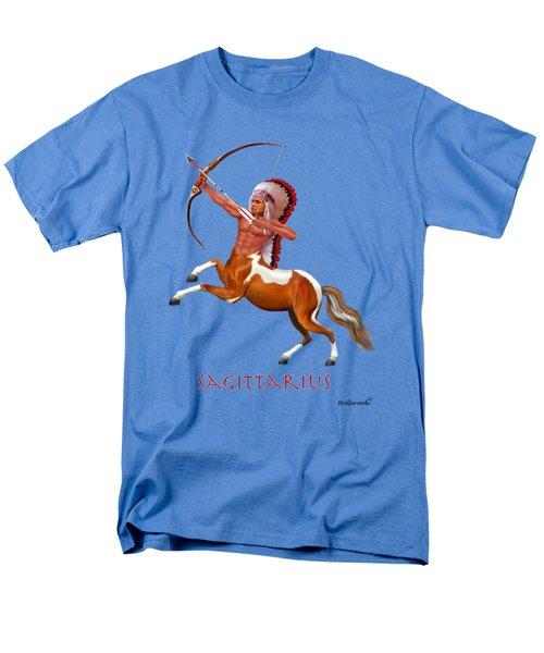 Native American Sagittarius Men's T-Shirt  (Regular Fit)