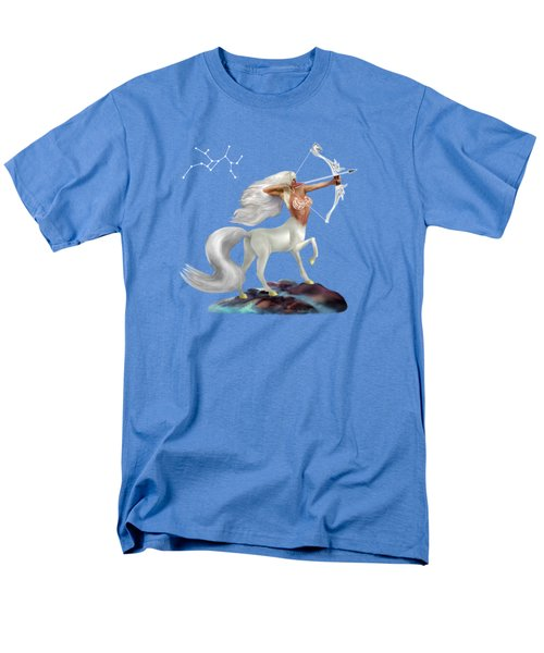 Mystical Sagittarius Men's T-Shirt  (Regular Fit) by Glenn Holbrook