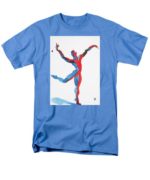 Ballet Dancer 3 Gesturing Men's T-Shirt  (Regular Fit) by Shungaboy X