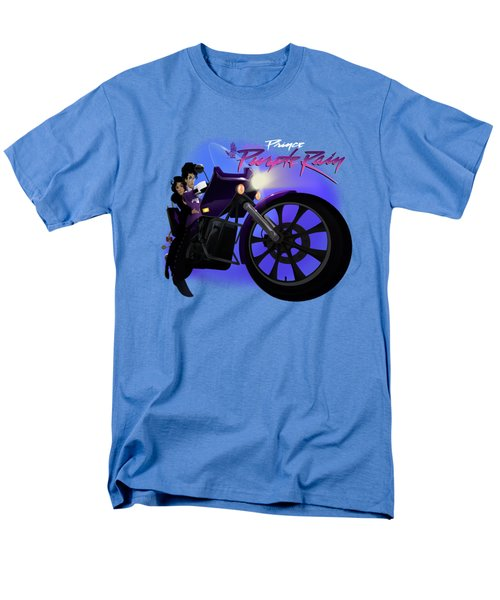 Men's T-Shirt  (Regular Fit) featuring the digital art I Grew Up With Purplerain 2 by Nelson dedos Garcia