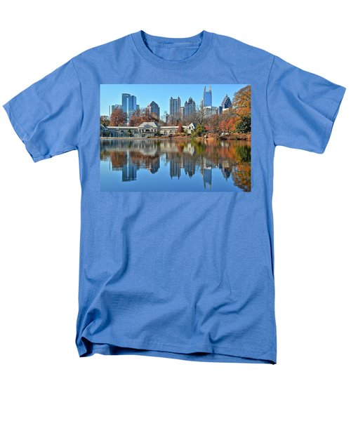 Atlanta Reflected Men's T-Shirt  (Regular Fit)
