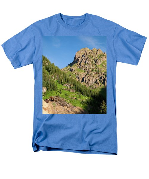 Men's T-Shirt  (Regular Fit) featuring the photograph Atlas Mine by Steve Stuller