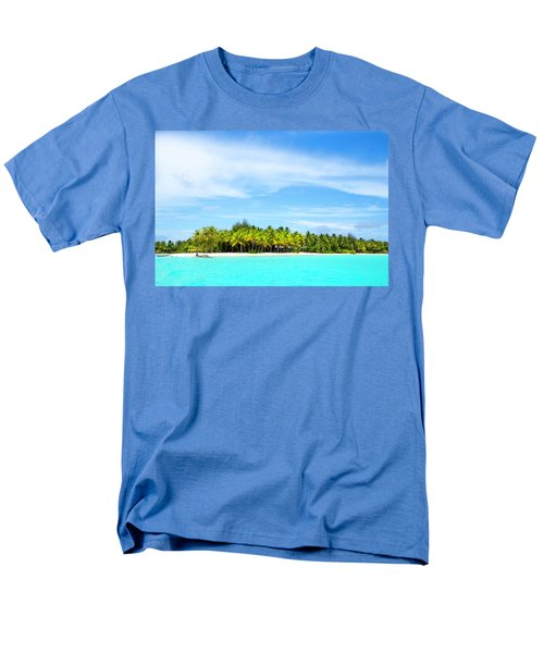 Men's T-Shirt  (Regular Fit) featuring the photograph Atoll by Sharon Jones
