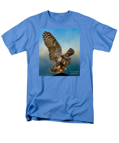 Men's T-Shirt  (Regular Fit) featuring the photograph Attitude Is Everything by Myrna Bradshaw