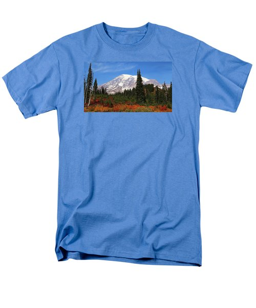 Men's T-Shirt  (Regular Fit) featuring the photograph Autumn At Paradise by Lynn Hopwood