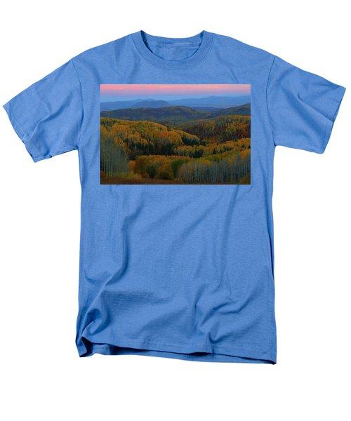 Autumn Sunrise At Rainbow Ridge Colorado Men's T-Shirt  (Regular Fit) by Jetson Nguyen