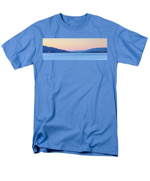 Men's T-Shirt  (Regular Fit) featuring the photograph Badwater - Death Valley by Peter Tellone