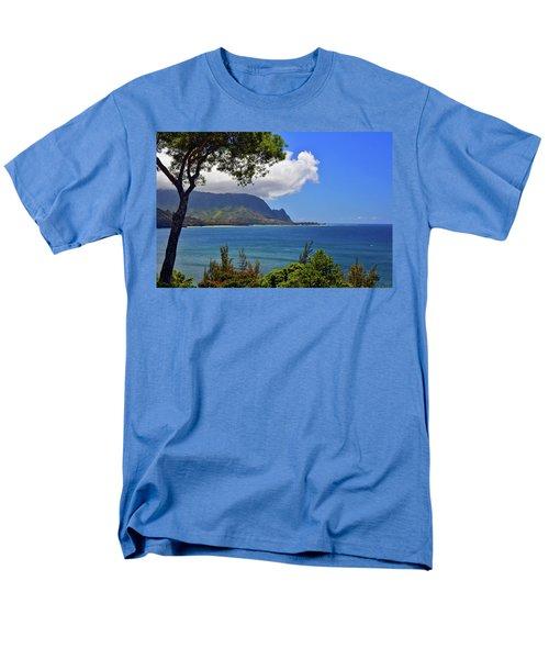 Bali Hai Hawaii Men's T-Shirt  (Regular Fit) by Marie Hicks