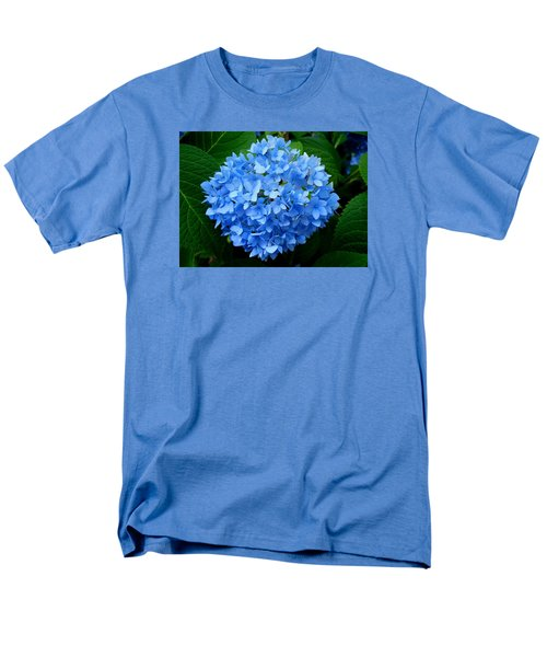 Men's T-Shirt  (Regular Fit) featuring the photograph Ball Of Blue by Michiale Schneider
