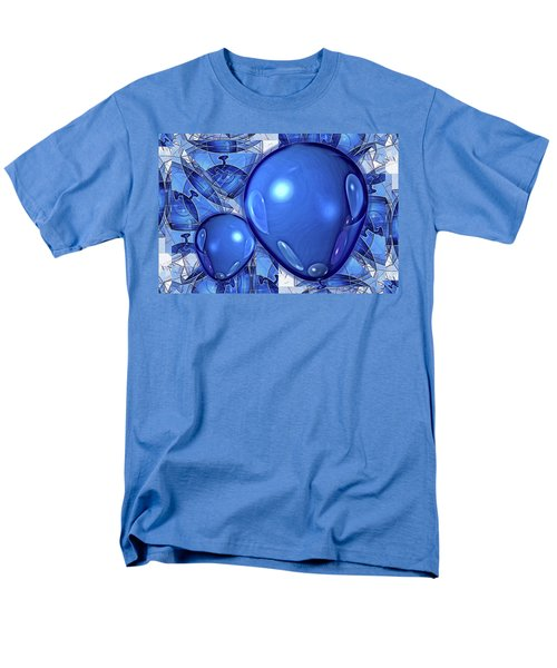 Men's T-Shirt  (Regular Fit) featuring the digital art Balloons by Ron Bissett
