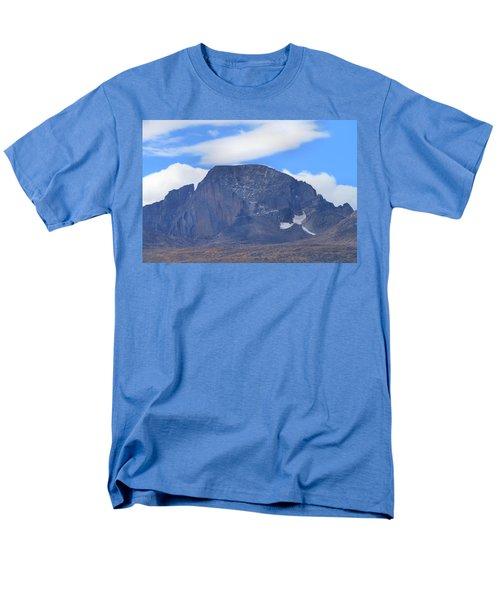 Men's T-Shirt  (Regular Fit) featuring the photograph Barren Mountain Landscape Colorado by Dan Sproul