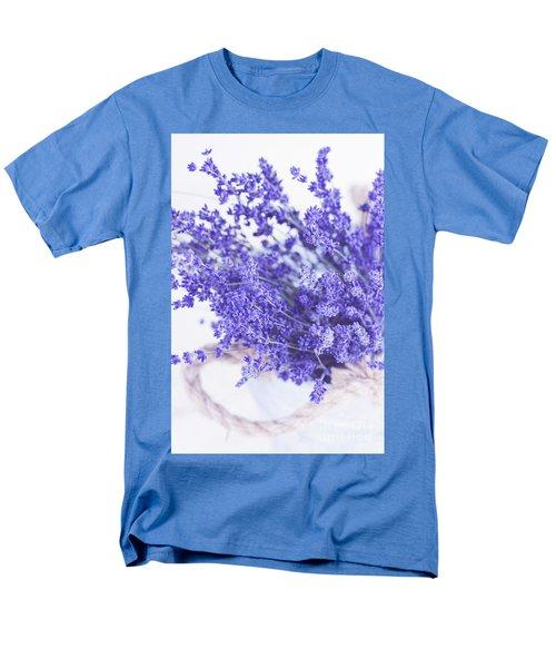Basket Of Lavender Men's T-Shirt  (Regular Fit)