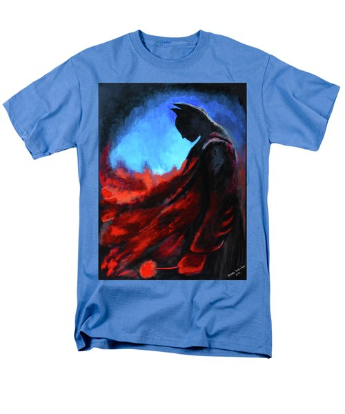 Batman's Mercy Men's T-Shirt  (Regular Fit) by Brandy Nicole Neal