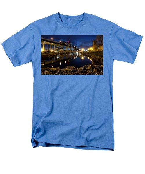 Battleship Cove, Fall River, Ma Men's T-Shirt  (Regular Fit) by Betty Denise