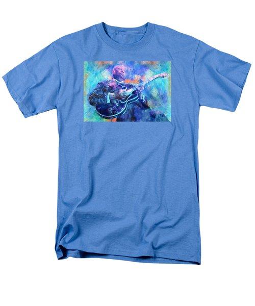 Bb King Men's T-Shirt  (Regular Fit) by Dan Sproul
