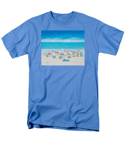 Beach Art - Fun In The Sun Men's T-Shirt  (Regular Fit) by Jan Matson