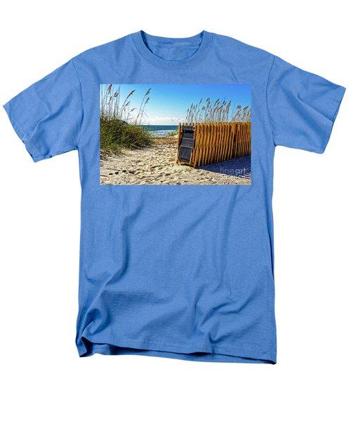 Beach Chairs Men's T-Shirt  (Regular Fit) by Paul Mashburn