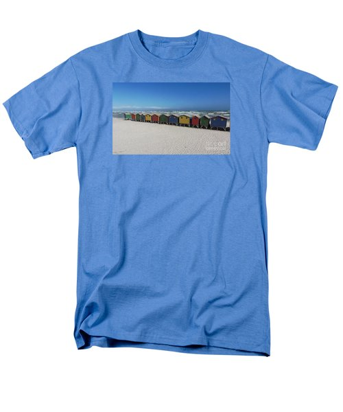 Beach Houses Men's T-Shirt  (Regular Fit) by Bev Conover
