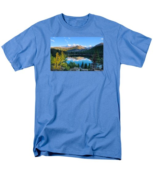 Bear Lake Reflection Men's T-Shirt  (Regular Fit) by Ronda Kimbrow