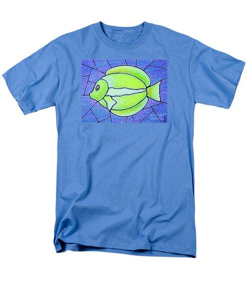 Beckys Yellow Tropical Fish Men's T-Shirt  (Regular Fit) by Jim Harris