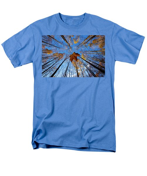Men's T-Shirt  (Regular Fit) featuring the photograph Before The First Snow by Mircea Costina Photography
