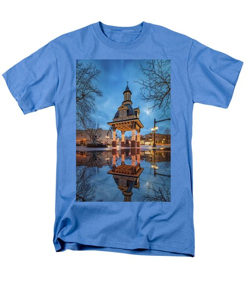 Men's T-Shirt  (Regular Fit) featuring the photograph Bell Tower  In Beaver  by Emmanuel Panagiotakis