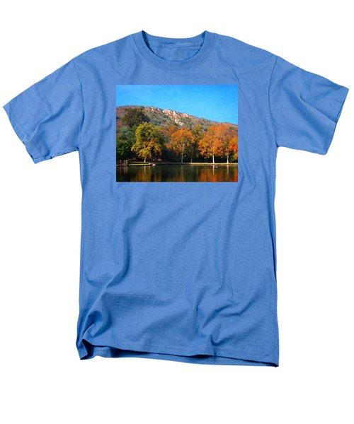 Men's T-Shirt  (Regular Fit) featuring the photograph Below Puma Ridge by Timothy Bulone
