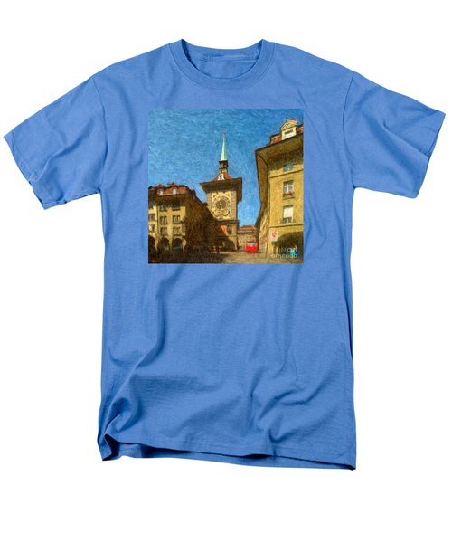Bern Clock Tower Men's T-Shirt  (Regular Fit)