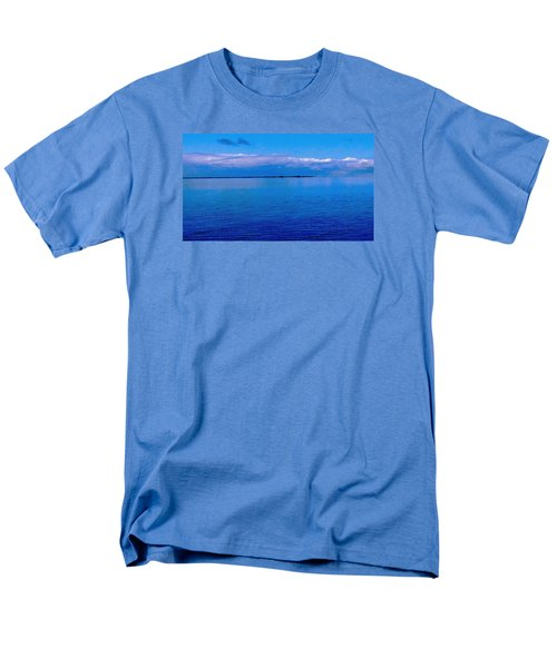 Blue Blue Sea Men's T-Shirt  (Regular Fit) by Vicky Tarcau