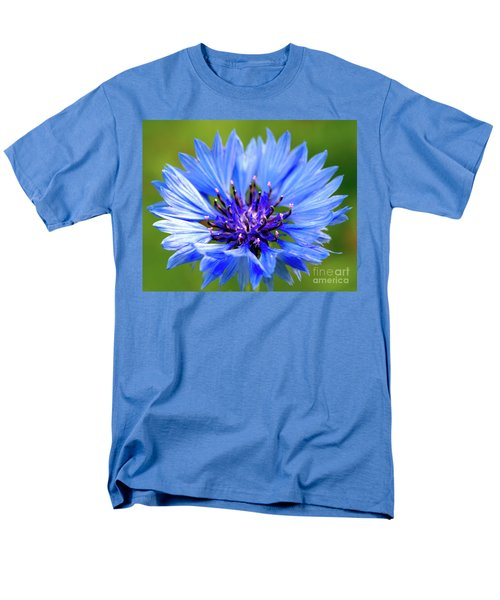 Blue Cornflower Men's T-Shirt  (Regular Fit)