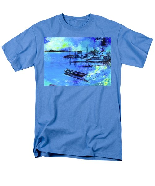 Blue Dream 2 Men's T-Shirt  (Regular Fit) by Anil Nene