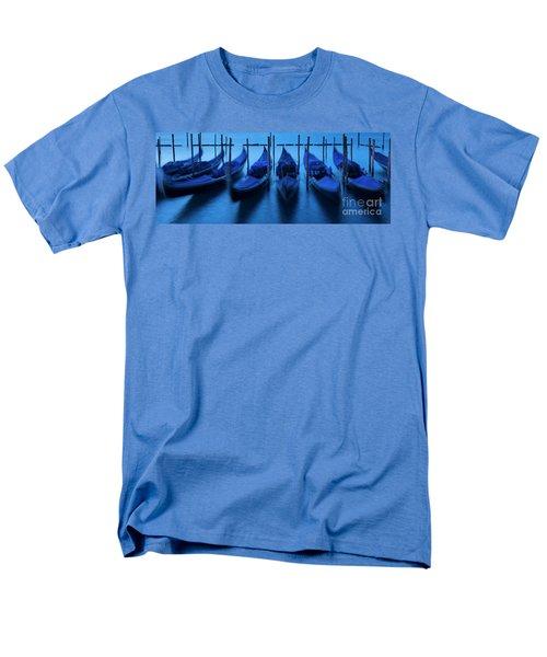 Men's T-Shirt  (Regular Fit) featuring the photograph Blue Gondolas by Brian Jannsen