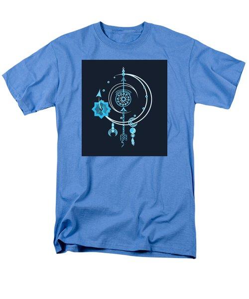 Blue Point Men's T-Shirt  (Regular Fit) by Deborah Smith